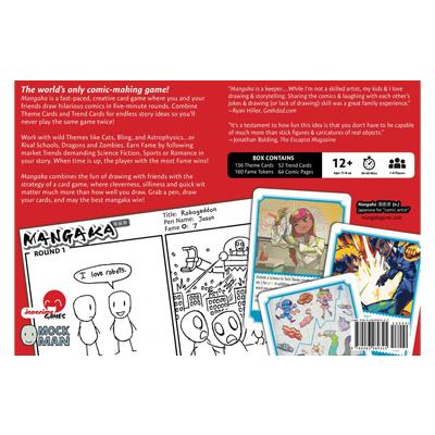 Mangaka Back Cover