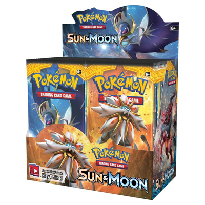 Pokemon Sun & Moon Boosters 2017