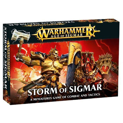 Warhammer Storm of Sigmar Cover