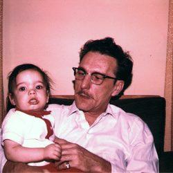 Efrem & Grandpa George