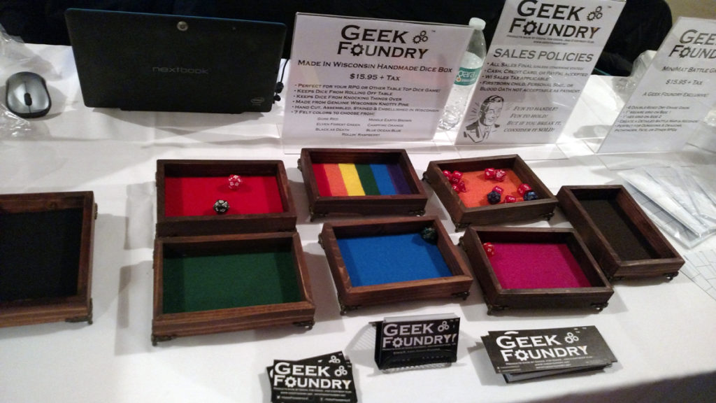Geek Foundry Dice Boxes