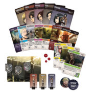 Attack on Titan Deck Bldg. Game Components