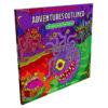 D&D Adventure Coloring Book cover
