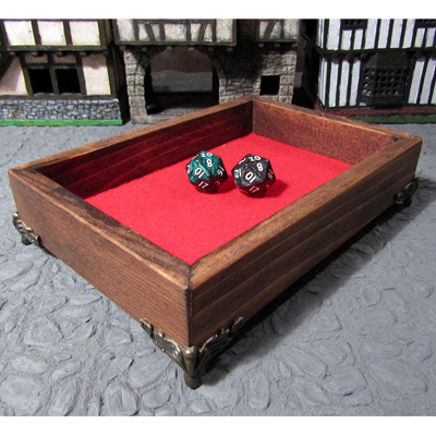 Geek Foundry Hand-made Pine Wood Dice Tray