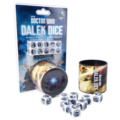 Dr. Who Dalek Dice