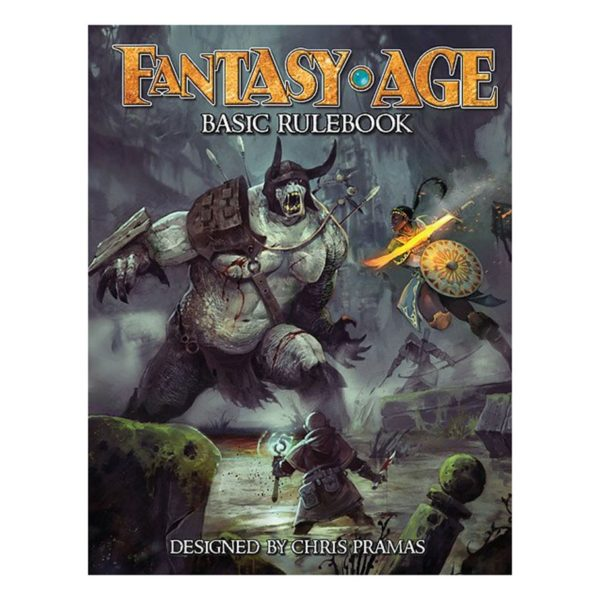 Fantasy AGE Rule Book cover