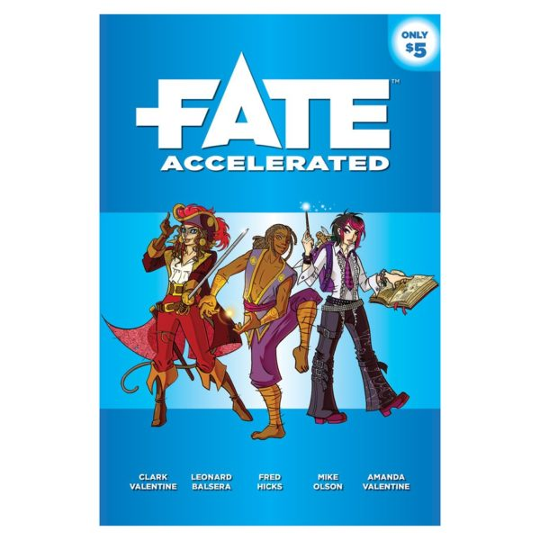 Fate Accelerated RPG cover