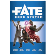 Fate Core System Rulebook Cover