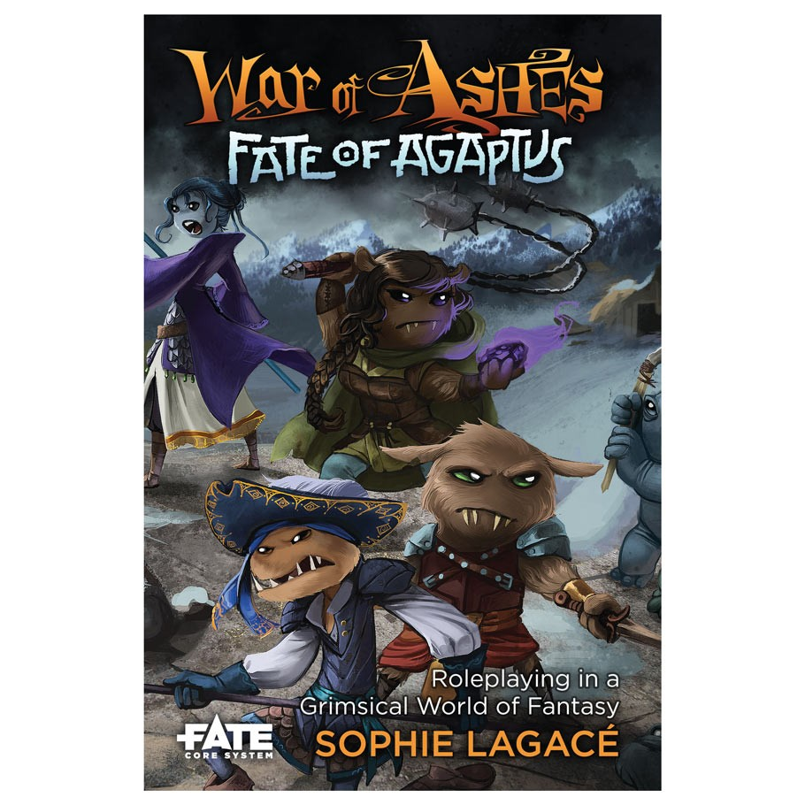 Fate War of Ashes Fate of Agaptus RPG cover