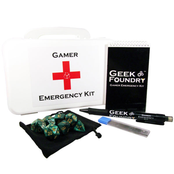 Geek Foundry Gamer Emergency Kit