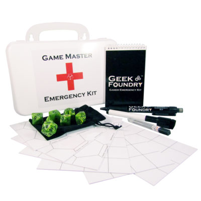 Geek Foundry Game Master Emergency Kit<sup>TM</sup>