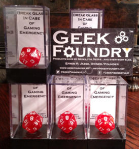 Geek Foundry Emergency D20 Group