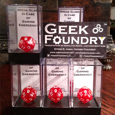 Geek Foundry Emergency D20