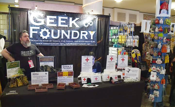 Geek Foundry at GeekCraft Expo Spring Fling 2018, courtesy WKOW Article