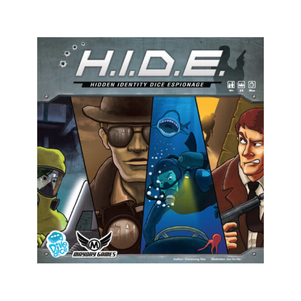 HIDE: Hidden Identidy Dice Espionage Game cover