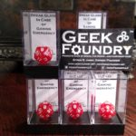 Geek Foundry Emergency D20 groupGeek Foundry Emergency D20 group