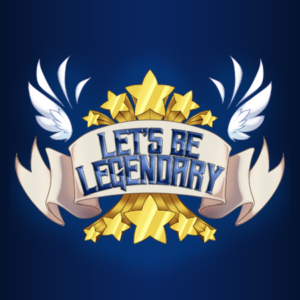 Let's Be Legendary Podcast Logo