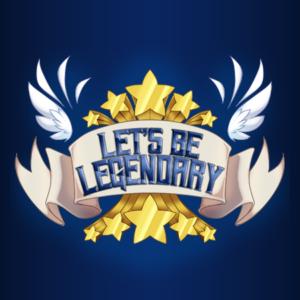 Let's Be Legendary Podcast Logo