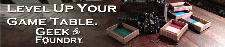 Geek Foundry Level Up Your Game Table off