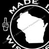 Made In Wisconsin T Detail