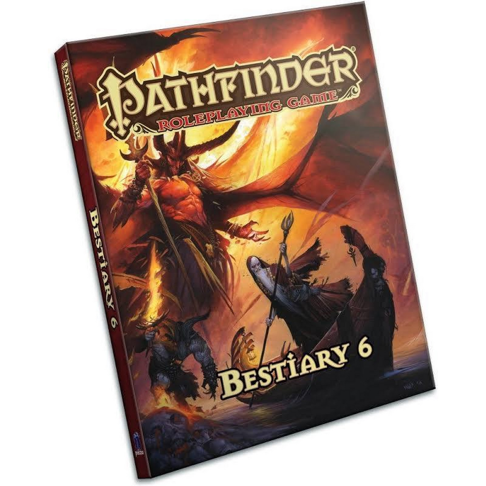 Pathfinder Bestiary 6 cover