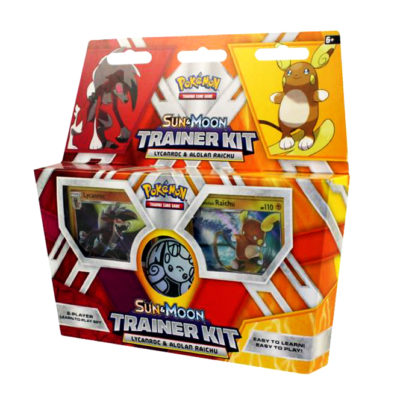 Pokémon Sun & Moon Trainer Kit: Lycanrock & Alolan Raichu