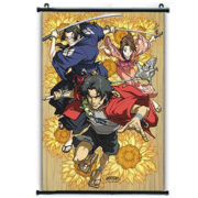 Samurai Champloo Sunflower Wall Scroll