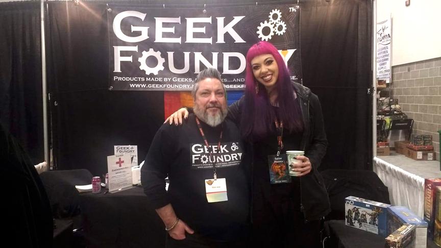 Satine Phoenix & Geek Foundry Crew GHC 2018