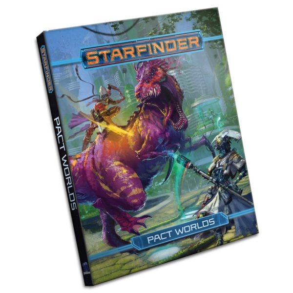 Starfinder RPG Pact Worlds cover