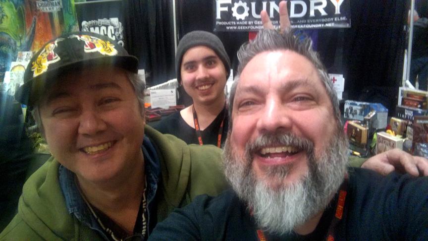 Stefan Pokorny & Geek Foundry Crew GHC 2018