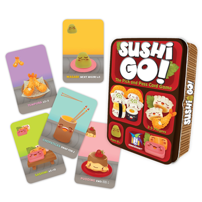 Sushi Go Components