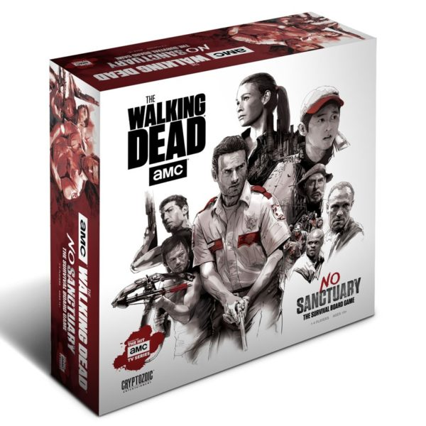 Walking Dead No Sanctuary Board Game cover