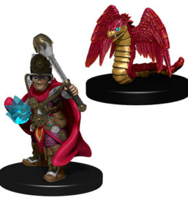 Wardlings Boy Cleric & Winged Snake