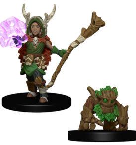 Wardlings Boy Druid & Tree Creature