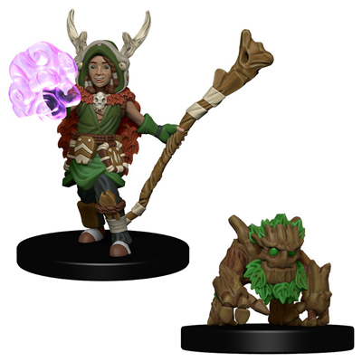 Wardlings Boy Druid & Tree Creature