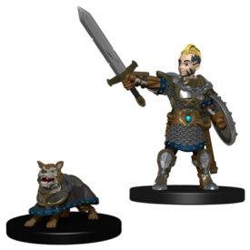 Wardlings Boy Fighter & Battle Dog