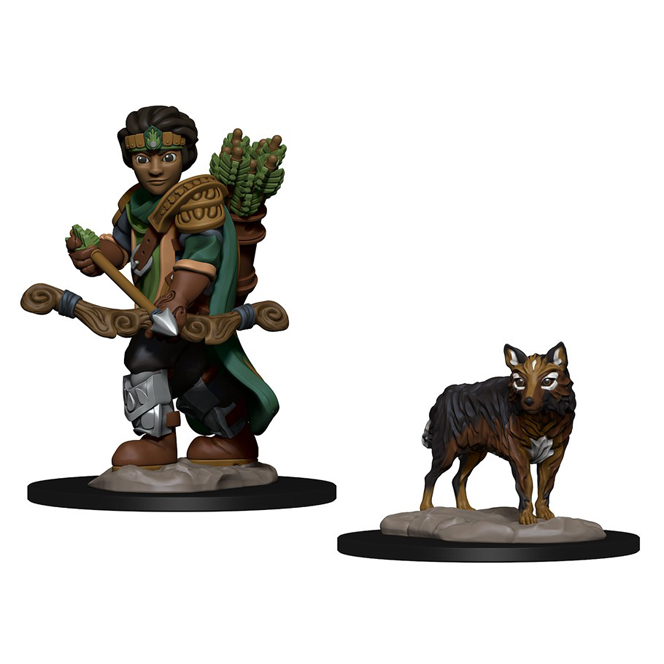 Wardlings Boy Ranger & Wolf