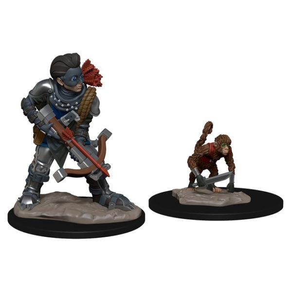 Wardlings Boy Rogue & Monkey
