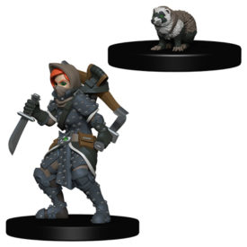 Wardlings Girl Rogue & Badger