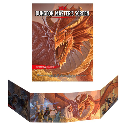 D&D 5E Dungeon Master's Screen