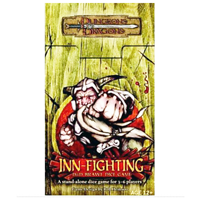 D&D Inn Fighting Cover