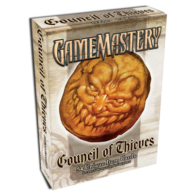 Paizo Pathfinder Council of Thieves Cards Cover