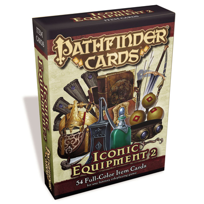 Pathfinder Cards: Iconic Equipment 2