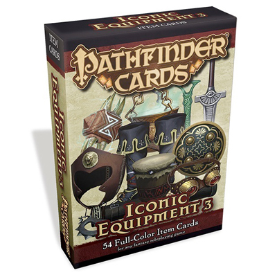 Pathfinder Cards: Iconic Equipment 3