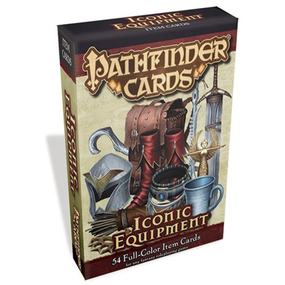 Paizo Pathfinder Iconic Equipment Cards Cover